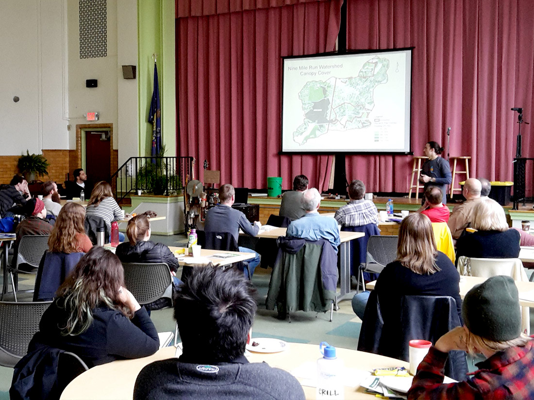 Group in meeting about Nine Mile Run watershed