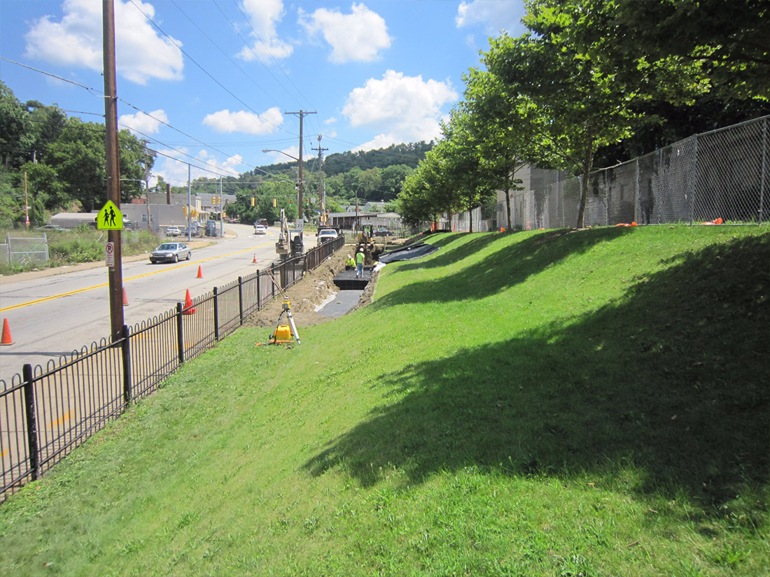 Crescent Stormwater Construction Pittsburgh PA