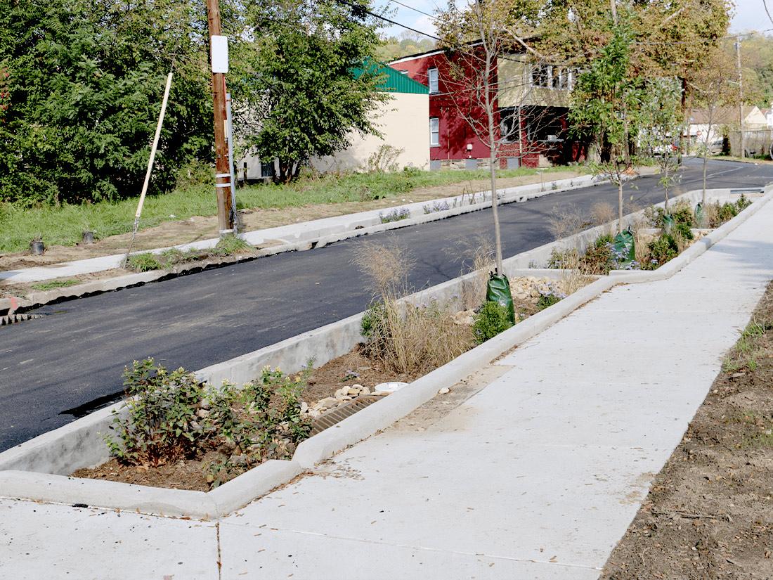 Oakwood-Batavia stormwater construction Pittsburgh PA